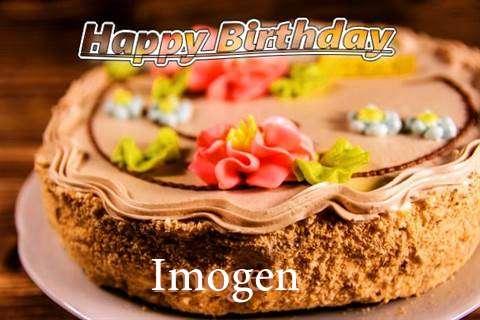 Happy Birthday Imogen