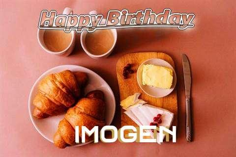Happy Birthday Wishes for Imogen