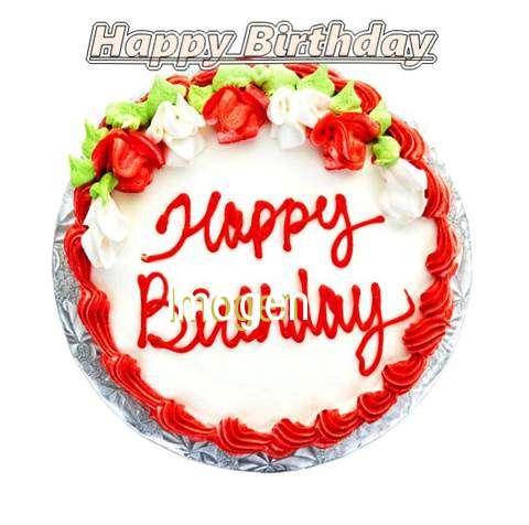 Happy Birthday Cake for Imogen