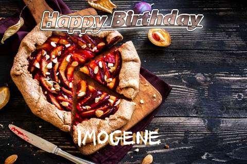 Happy Birthday Imogene Cake Image