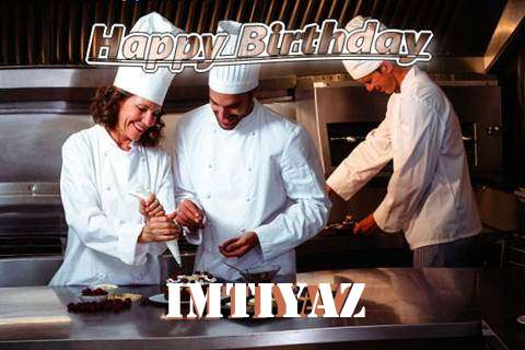 Happy Birthday Cake for Imtiyaz