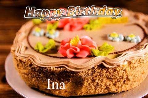 Happy Birthday Ina