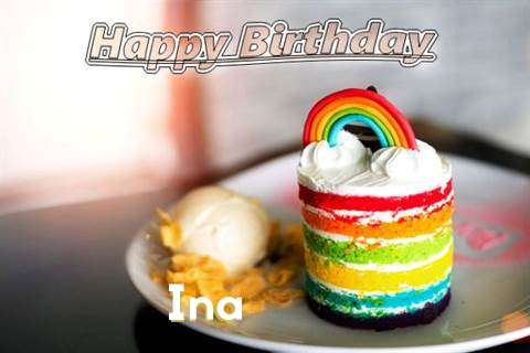 Birthday Images for Ina