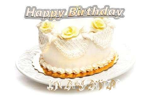 Happy Birthday Cake for Inayata