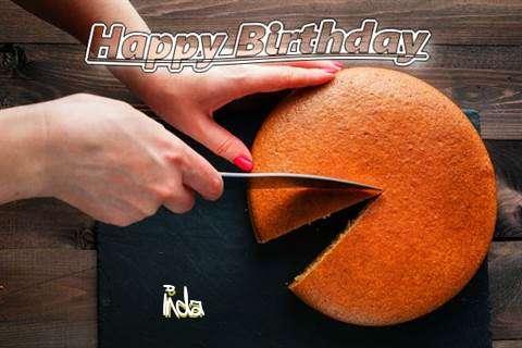 Happy Birthday to You Inda