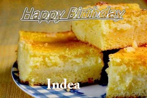 Happy Birthday Indea