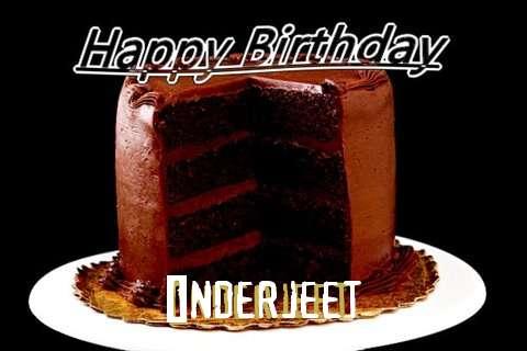 Happy Birthday Inderjeet Cake Image