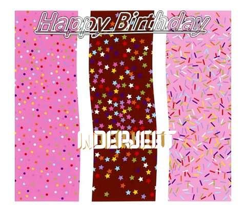 Happy Birthday Wishes for Inderjeet
