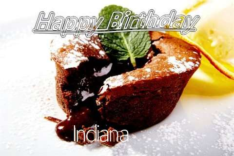 Happy Birthday Wishes for Indiana