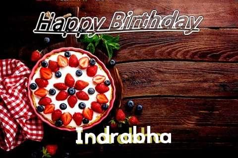 Happy Birthday Indrabha Cake Image