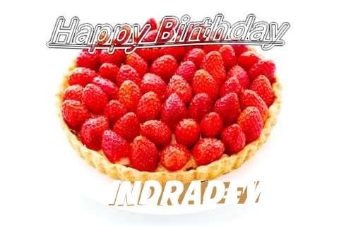 Happy Birthday Indradevi Cake Image