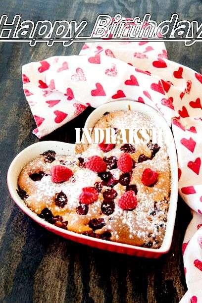 Happy Birthday Cake for Indrakshi