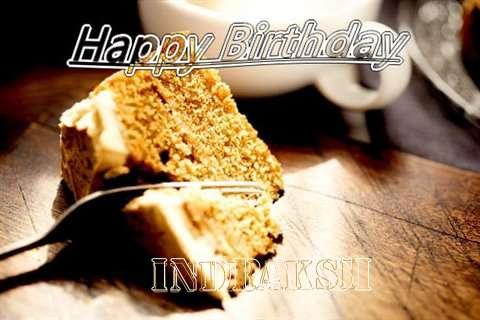 Happy Birthday Indraksi Cake Image