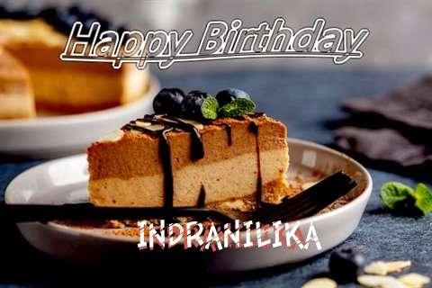 Happy Birthday Indranilika Cake Image