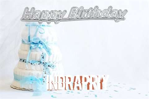 Happy Birthday Indrapriy Cake Image