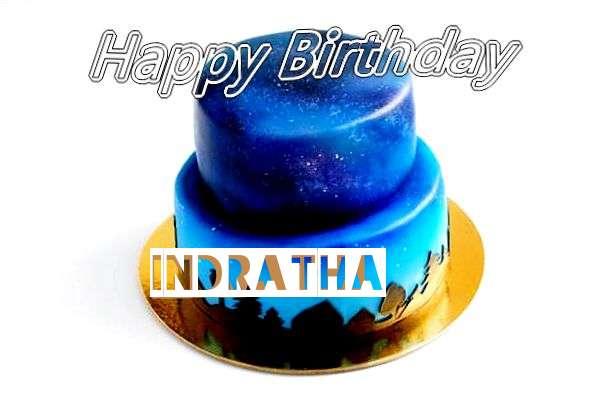 Happy Birthday Cake for Indratha