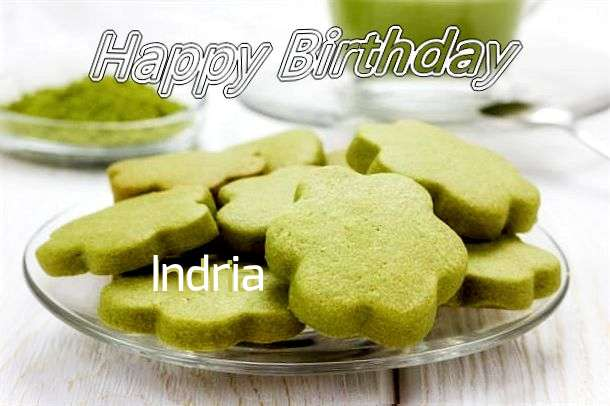 Happy Birthday Indria