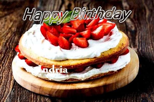 Indria Birthday Celebration