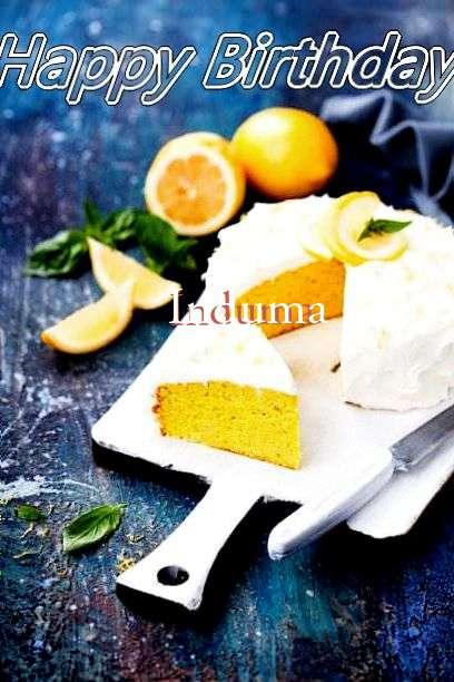 Birthday Wishes with Images of Induma