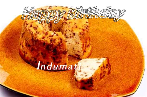 Happy Birthday Cake for Indumati
