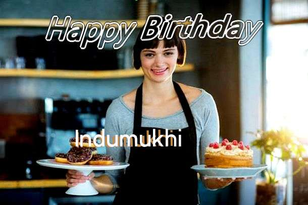 Happy Birthday Wishes for Indumukhi