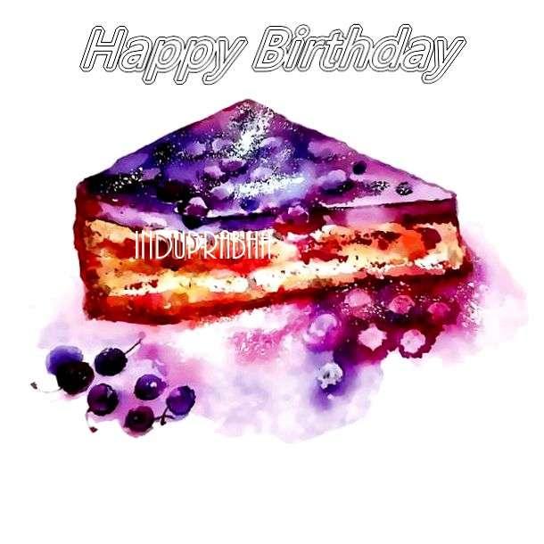 Birthday Wishes with Images of Induprabha