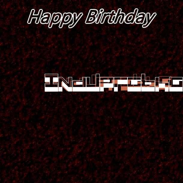Happy Birthday Induprabha Cake Image
