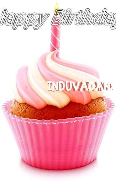 Happy Birthday Cake for Induvadana