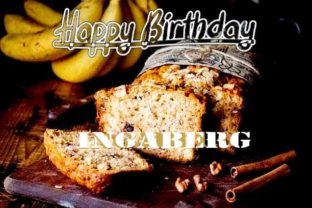 Happy Birthday Cake for Ingaberg