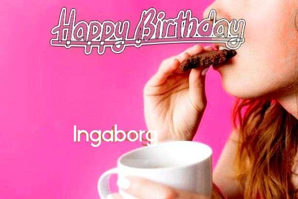 Birthday Wishes with Images of Ingaborg