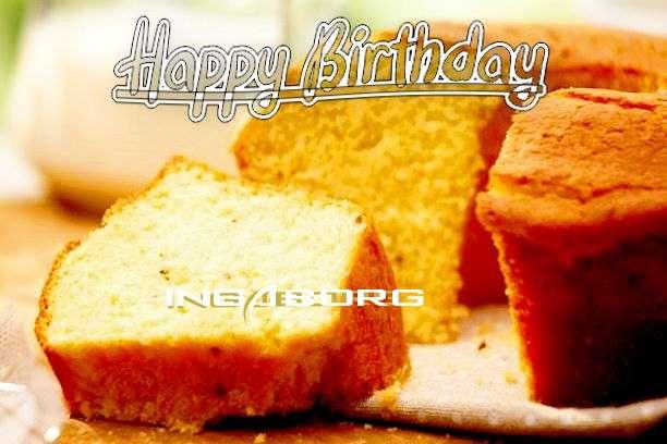 Happy Birthday Cake for Ingaborg