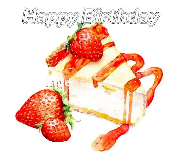Birthday Images for Inge