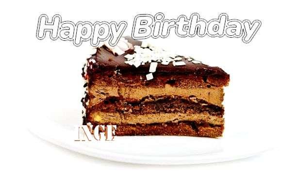 Inge Birthday Celebration