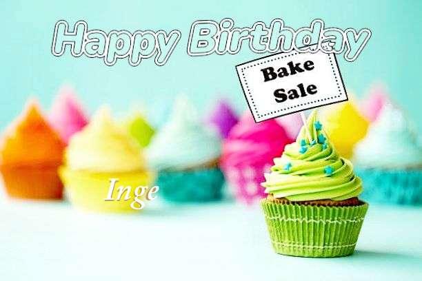 Happy Birthday to You Inge
