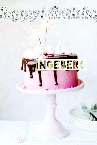 Birthday Wishes with Images of Ingeberg