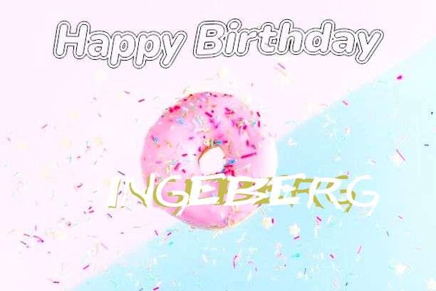 Happy Birthday Cake for Ingeberg