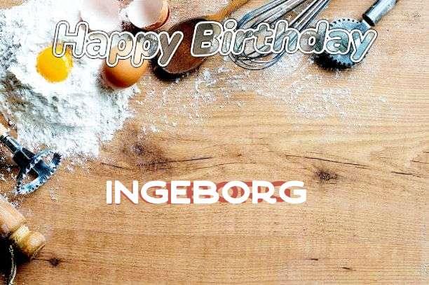 Happy Birthday Cake for Ingeborg