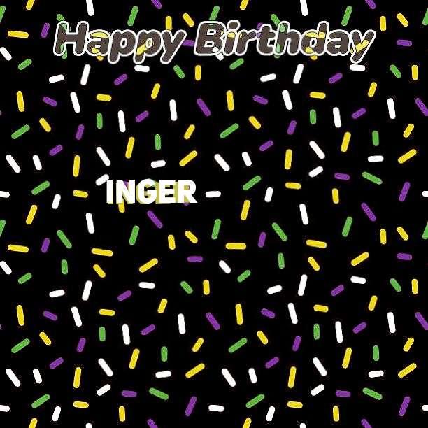 Birthday Images for Inger