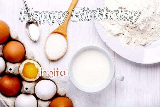 Birthday Wishes with Images of Ingita