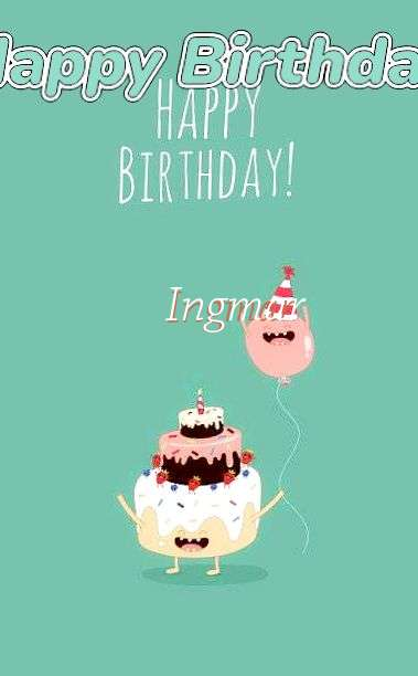Happy Birthday to You Ingmar