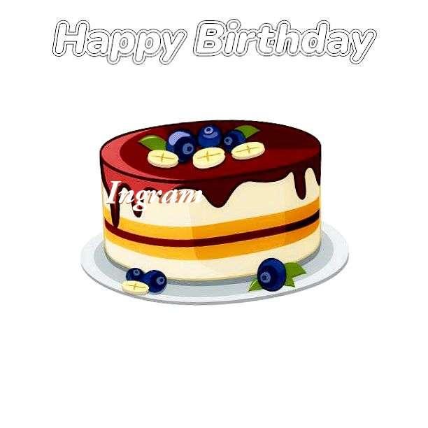 Happy Birthday Wishes for Ingram