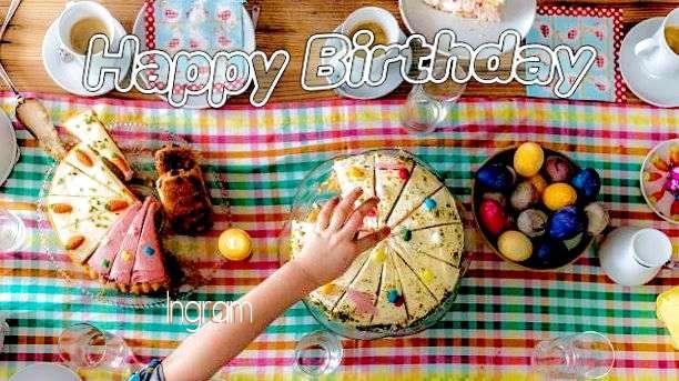 Happy Birthday Cake for Ingram