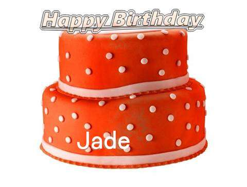 Happy Birthday Cake for Jade
