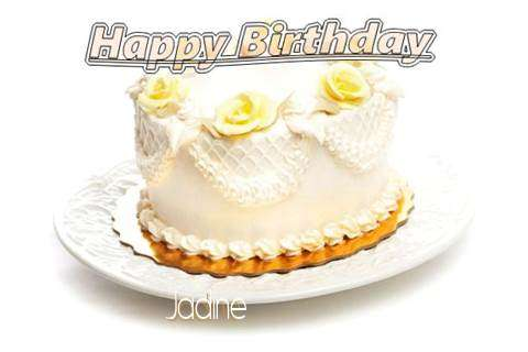 Happy Birthday Cake for Jadine