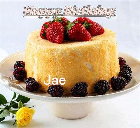 Happy Birthday Jae Cake Image