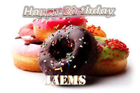 Birthday Wishes with Images of Jaems