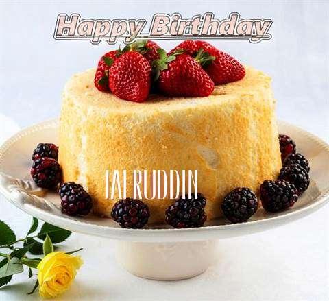 Happy Birthday Jafruddin Cake Image