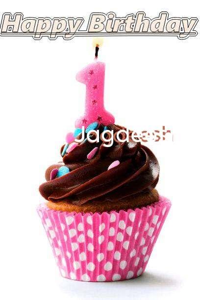 Happy Birthday Jagdeesh Cake Image