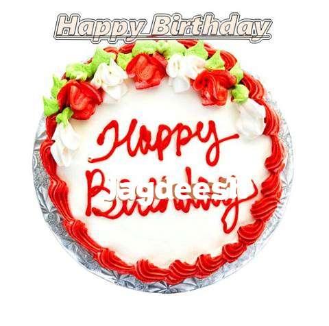 Happy Birthday Cake for Jagdeesh
