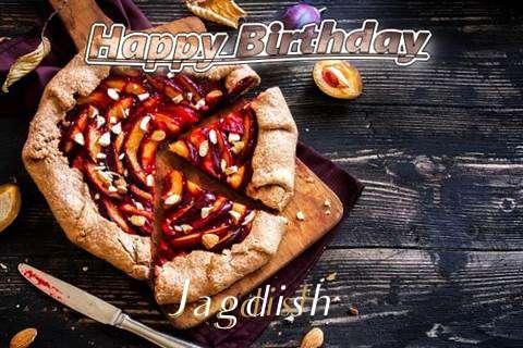 Happy Birthday Jagdish Cake Image